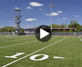 Video: Marching Virginians' practice facility