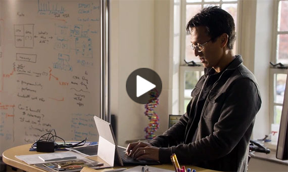 Video: Microsoft's TV commercial featuring the work of Virginia Tech professor Wu Feng