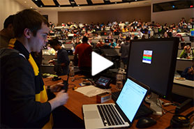 Video: Programmers, developers gather for 36-hour VTHacks marathon