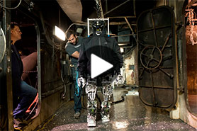 Video: Engineering students make history with firefighting humanoid robot