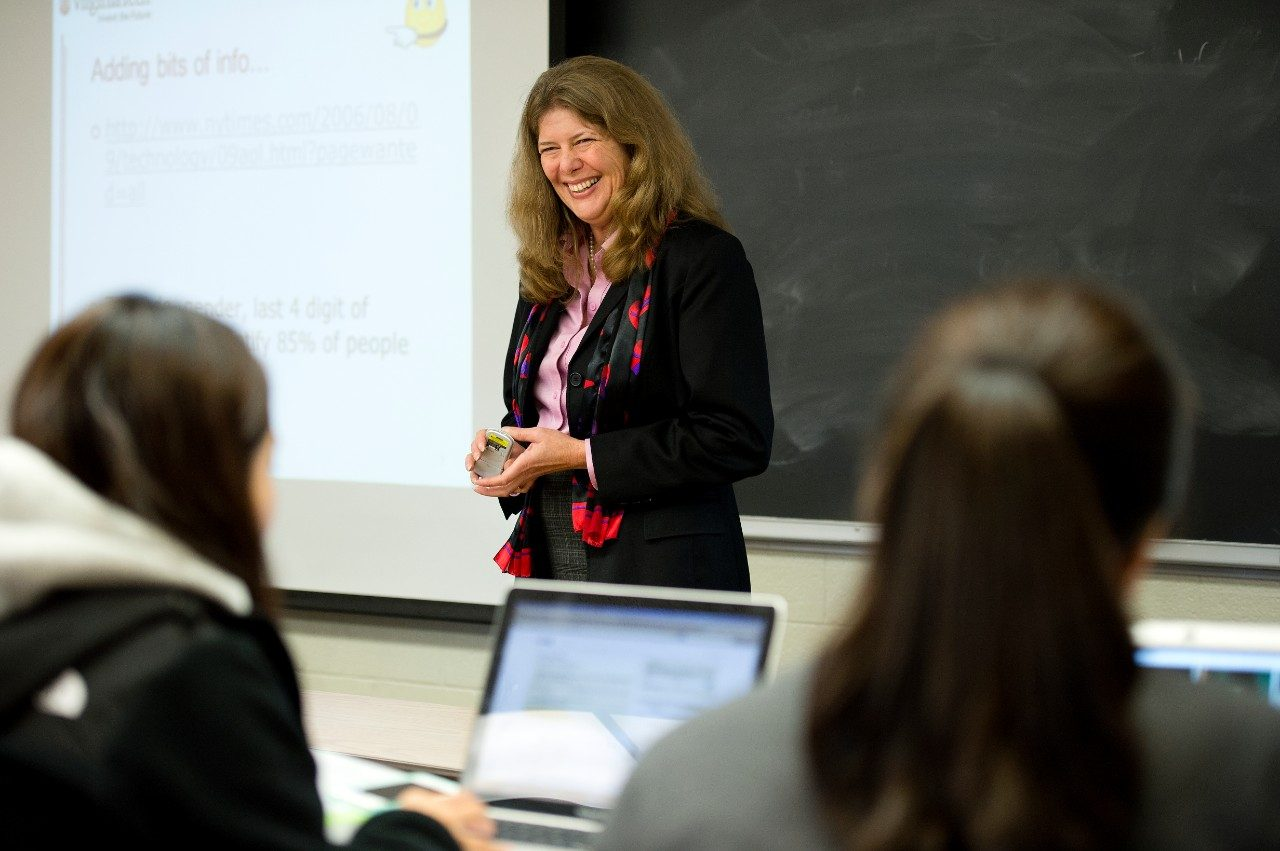 France Belanger is a professor in the department of accounting and information systems in the Pamplin College of Business. She also is a faculty member in Virginia Tech's online master of information technology program.
