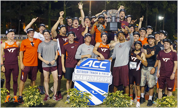 Virginia Tech men's track and field ACC champions