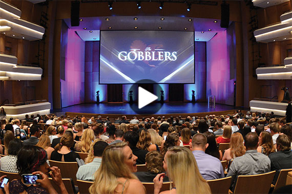 Video: Gobblers awards show